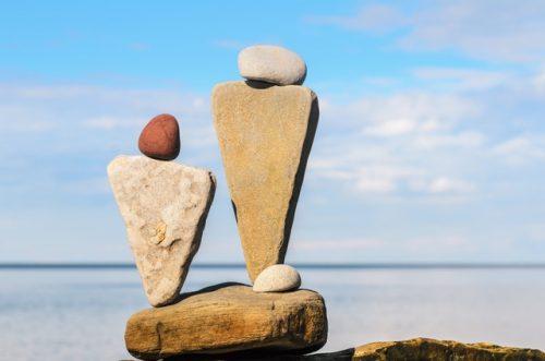 Composición de piedras